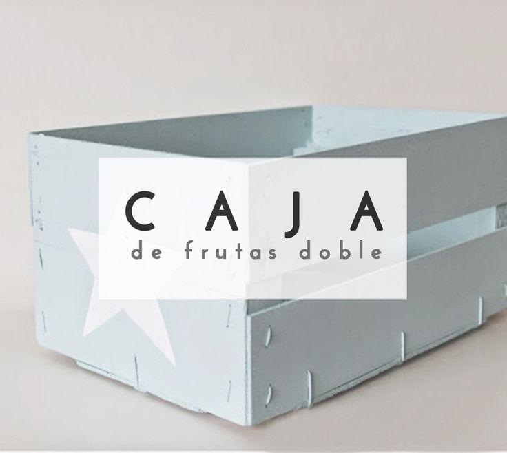 Crea una fabulosa caja con dos cajas de fresas