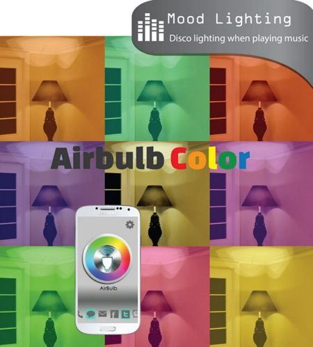 The AirBulb Color will merge an energy efficient LED bulb and a wireless speaker in a single unit, where you can then wield full control over it in the form of an app using iOS or Android devices. #vigorelle
