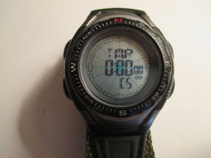 s remington digital compass chrono alarm timer
