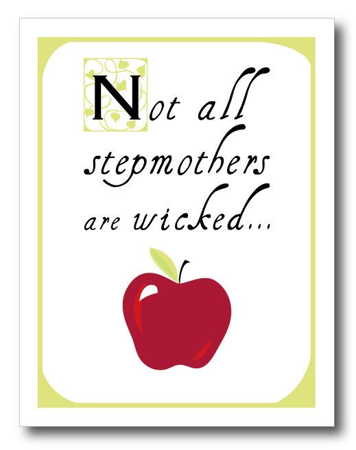 Would love to see Stepmom's be recognized for all the love they give instead as receipients of the green eyed monster.  I am pround to be a Stepmom!!!