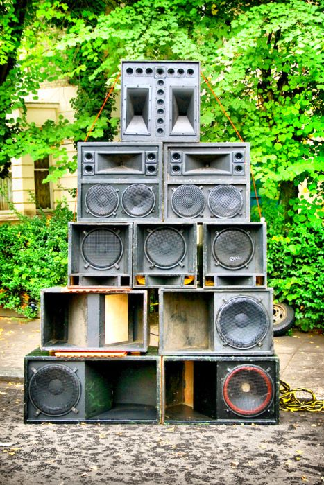 Sound Systems & Posters - Jamaican Sound System