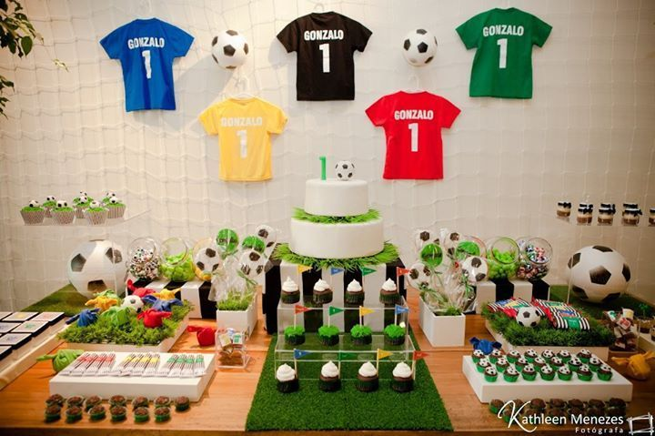 Festa Infantil Futebol: inspirações e ideias