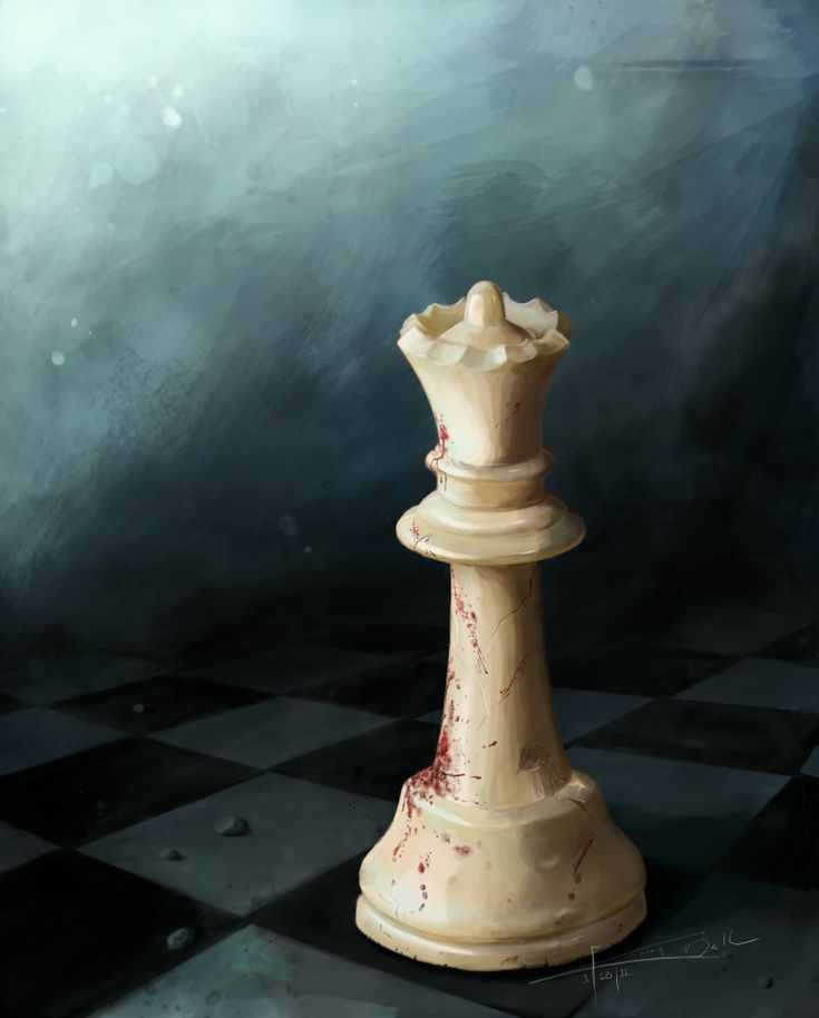 "Chess Artwork | ... of a ""Queen"" that's not afraid to join the fight... Queen Chess Piece"
