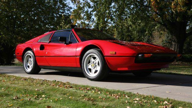 Frat House Ferrari 1984 Ferrari 308 Ferrari Magnum Car