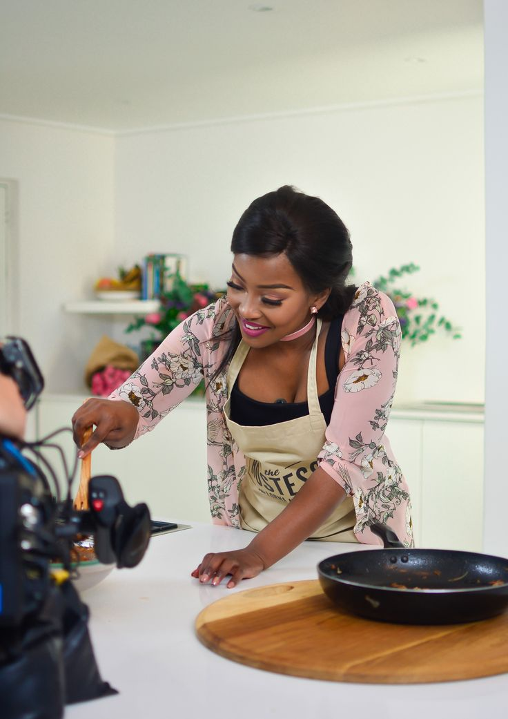 Behind the scenes and on set with The Hostess with Lorna Maseko