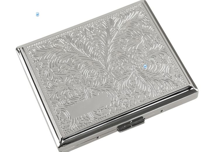 Cigarette Case JC Venetian Rounded can be owned at a price of £27.00. Make this more special by adding engraved text to it.
