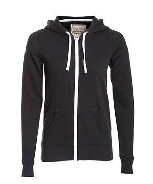 Black (Black) Black Zip Up Hoodie | 257902401 | New Look