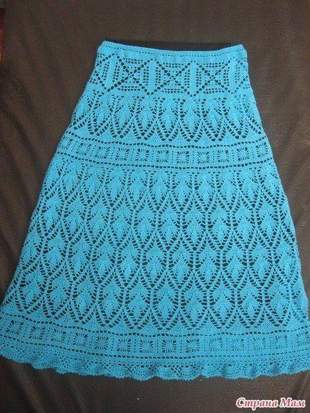Delicadezas en crochet Gabriela: Falda de motivos varios ganchillo esquema