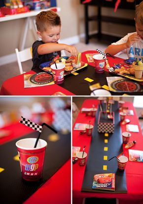 Super Cool Disney Pixar Cars Birthday Party
