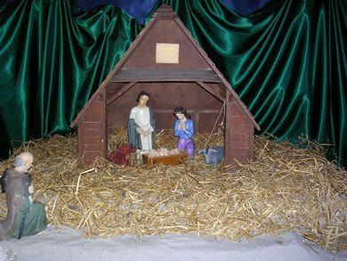 Domkyrkans julkrubba