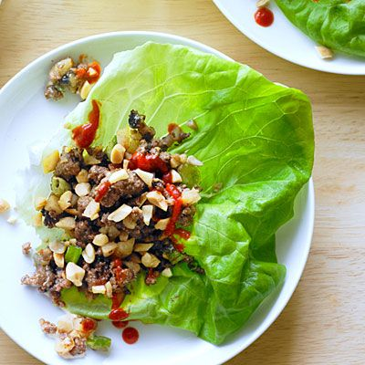 Bison and Water Chestnut Lettuce Cups: Lettuce Cups, Asian Recipes, Healthy Dinners, Chestnut Lettuce, Fresh Asian, Water Chestnut, Healthy Food, Bison Recipes, Cups Recipes