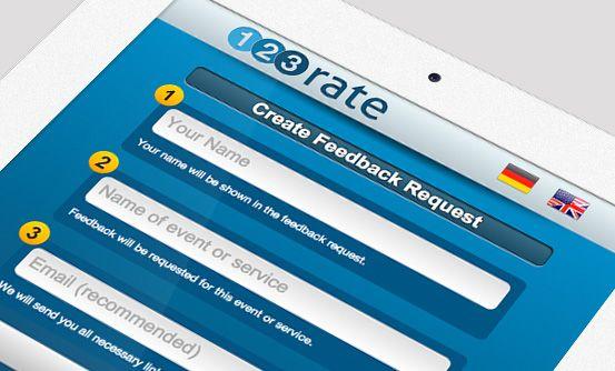 123rate.com - narzędzie do szybkiego dawania i otrzymywania informacji zwrotnych // a tool for giving and receiving feedback in seconds