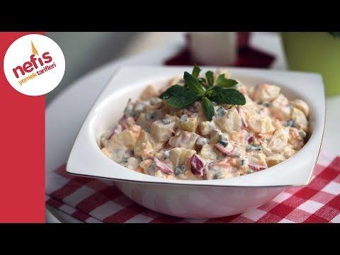 Köz Biberli Yoğurtlu Patates Salatası Tarifi – Nefis Yemek Tarifleri