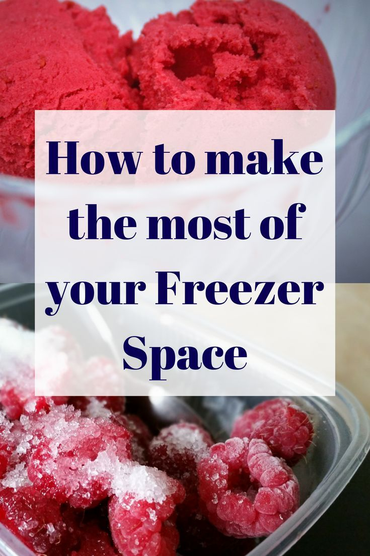 Only having a small freezer means I need to make the most of every inch of space. Try these tips make the most of your Freezer Space
