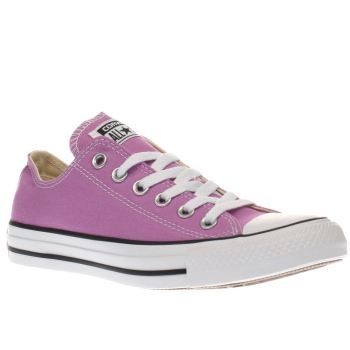 Converse Purple All Star Canvas Ox Womens Trainers Fancy treating your feet to a new pair of kicks? You know you cant go wrong with a pair of Chucks. The Converse Chuck Taylor All Star arrives in a pretty purple colourway for the new season, complete  http://www.MightGet.com/january-2017-13/converse-purple-all-star-canvas-ox-womens-trainers.asp