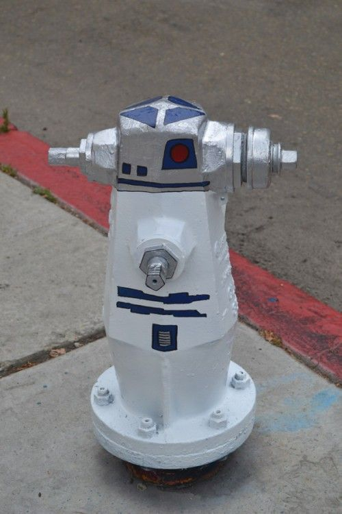 R2D2 Fire Hydrant