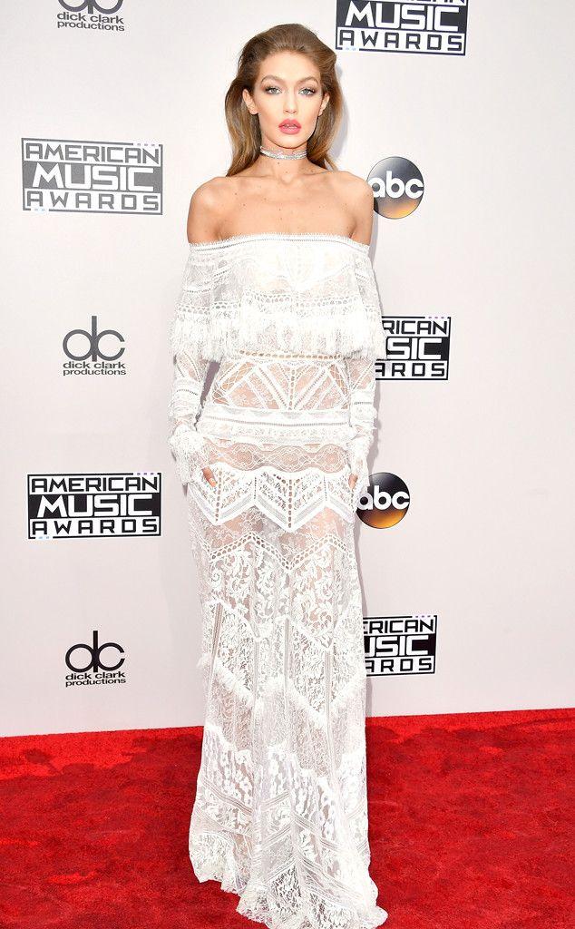 Gigi Hadid: 2016 AMAs Red Carpet Arrivals - November 20, 2016