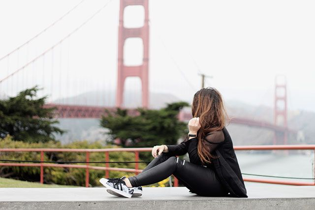 Outfit | Golden Gate Bridge