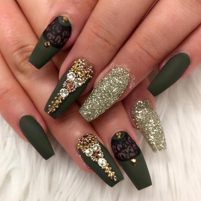 Matte Acrylic Nails: 21 Best Inspirational Ideas ★ See more: https://naildesignsjournal.com/matte-acrylic-nails-inspirational-ideas/ #nails