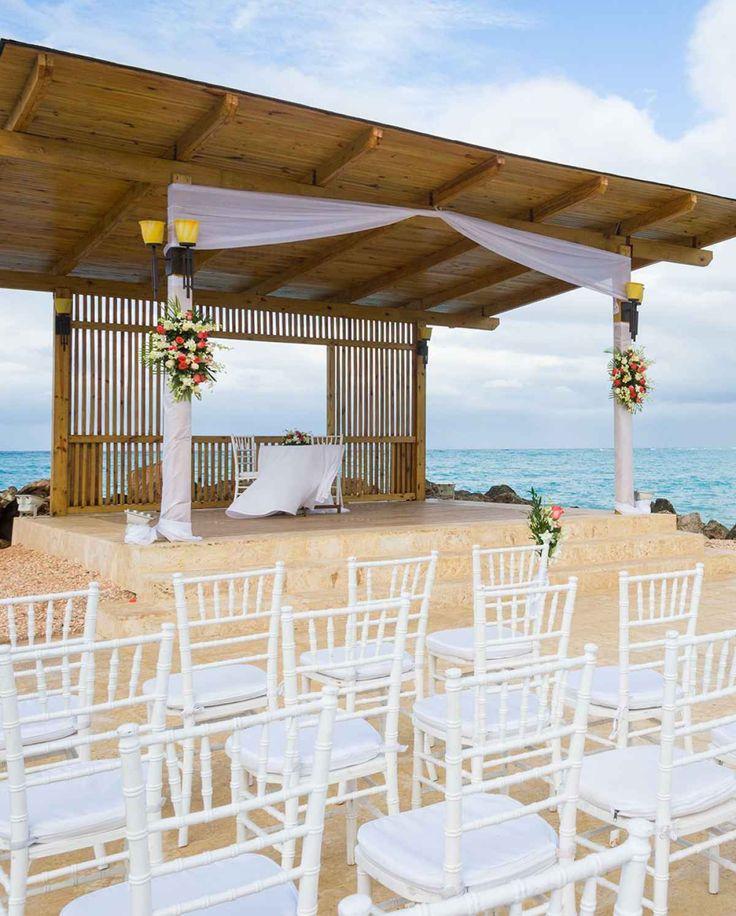 The Ritz-Carlton, St. Thomas, U.S. Virgin Islands offers a stunning wedding ceremony backdrop!