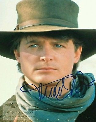 MICHAEL-J-FOX-as-Marty-Mc-Fly-BTTF-8x10-Autographed-RP-lustre-Photo