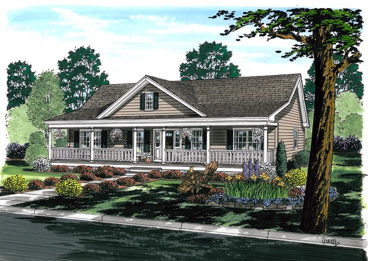 17 best ideas about ranch house plans on pinterest ranch for Southern style ranch home plans