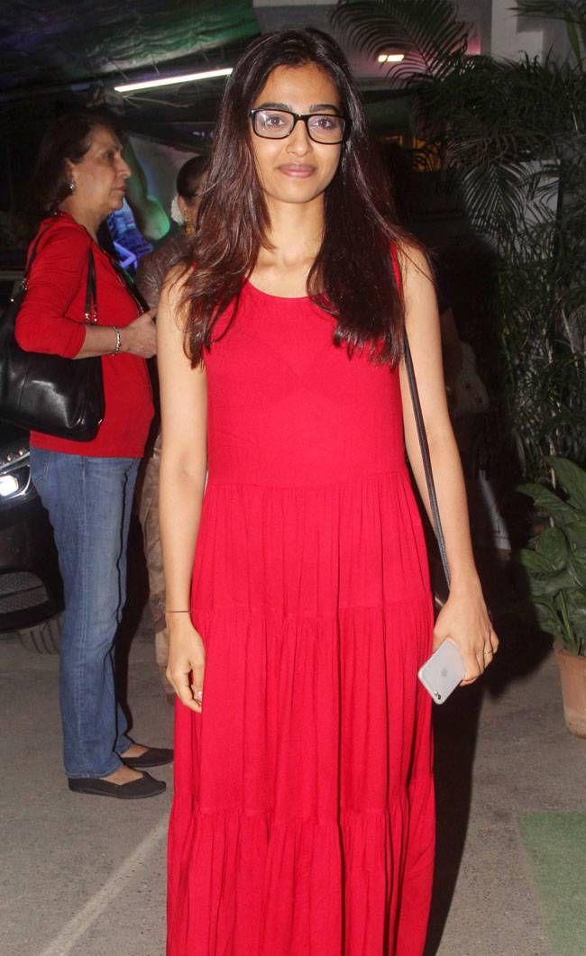 Radhika Apte at #Aligarh screening. #Bollywood #Fashion #Style #Beauty #Hot #Marathi