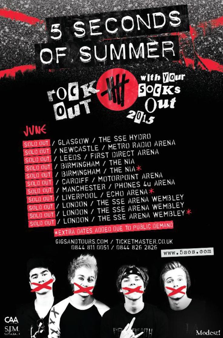 These dates for ROWYSO are sold out!!! Are you going to any of these? Comment!