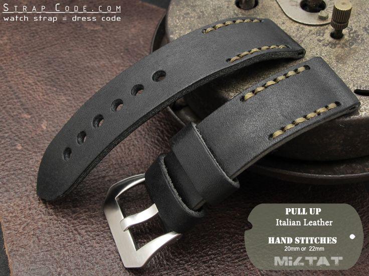 handmade leather watch band - Szukaj w Google
