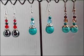 17 best images about bijoux on pinterest turquoise - Boucle d oreille a faire soi meme ...