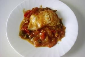 How to Make Sweet and Spicy Cod Fish with Tomato Sauce