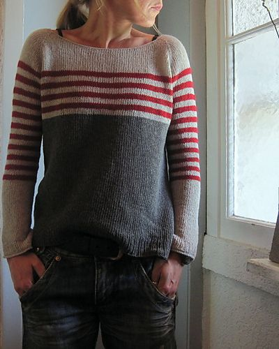 Your new fall sweater? Ravello pattern by Isabell Kraemer