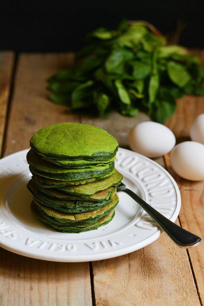 Pan Cake agli spinaci
