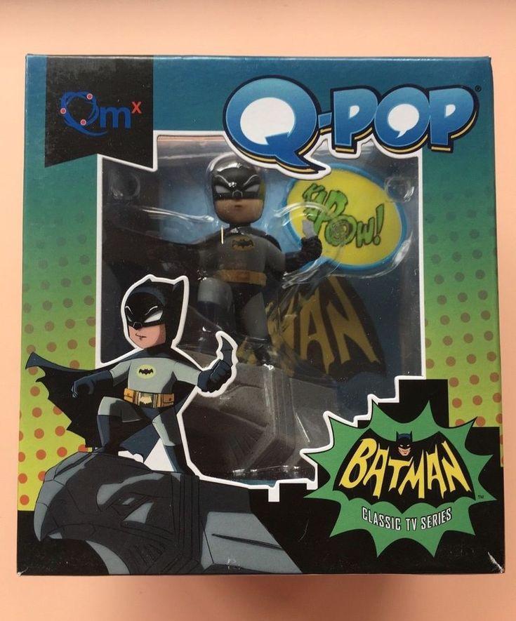 NIB 2015 Loot Crate Exclusive Q-Pop Batman Classic TV Series Adult Collectible #DCComics