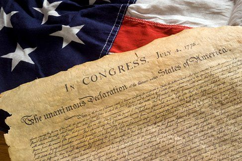 Imagine, 241 years ago today American patriots signed the Declaration of Independence. Today let us celebrate that independence and honor those men who bravely risked their lives so we might live free.
