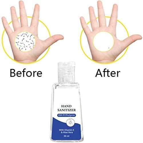 X3 Clean Alcohol Free Foaming Hand Sanitizer Travel Size 2 5