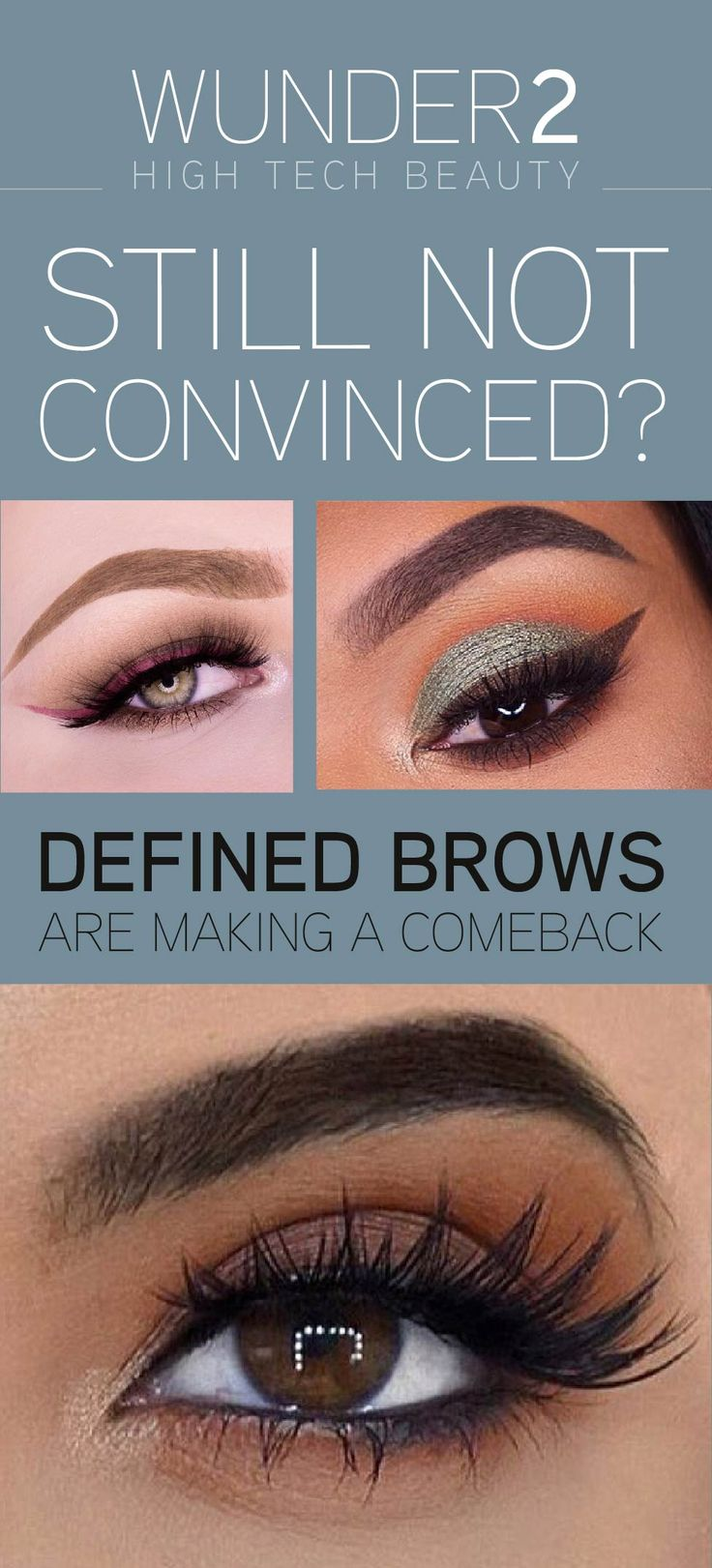Eyes are the first part of another person we look at - therefore you will want to use a product that will frame them perfectly. That product is WunderBrow! Choose from 5 shades - Blonde, Brunette, Auburn, Black/Brown or Jet Black. Order today for $22 to get FREE shipping & a 30 day money back guarantee. Simply click on the 'visit' button above. The order form takes less than 2 minutes to complete. Once done you will receive an order confirmation email. Welcome to the future of beautiful…