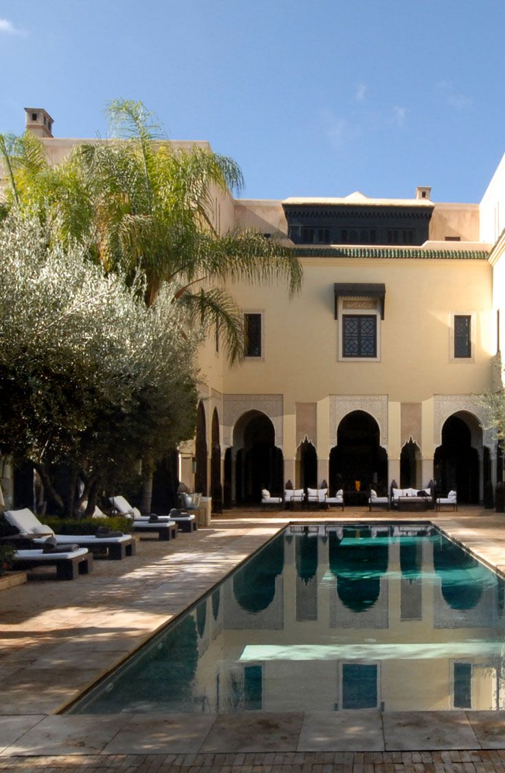 La Villa des Orangers in Marrakech Morocco offers discounted rates to MedClub members. Join the MedClub now for luxury hotel deals in Greece and the Mediterranean. www.mediteranique.com/med-club/