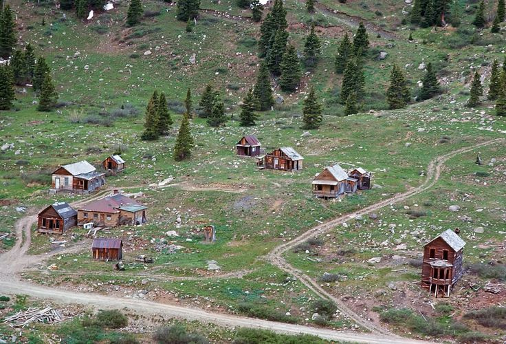 animas forks ghost town Colorado....spent many Jeep trips exploring this area