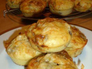 Muffin al gorgonzola e noci