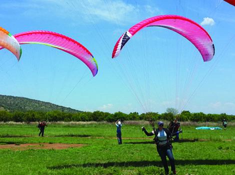 Paragliding Adventures Gauteng - Activity of the month for September. Attitude 4 Altitude Paragliding school...