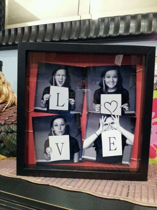 Süße Foto-Idee zum Valentinstag.