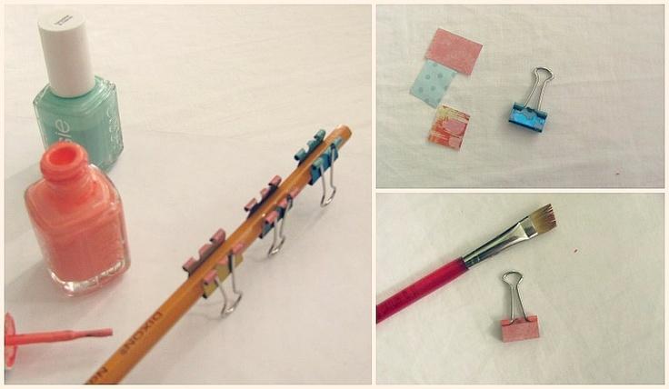 Pretty DIY Office Clips   Embellish {a blog by Laura Wadsworth}