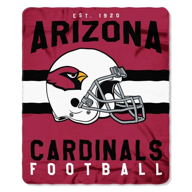 "NFL Arizona Cardinals Northwest 50""x60"" Throw Blanket"
