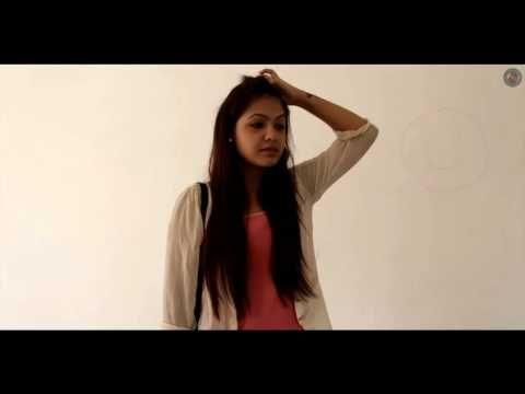 Best Romantic Short films ||Smile-Where two Hearts Meet With A Face Art.|| LPU Short films 2015||