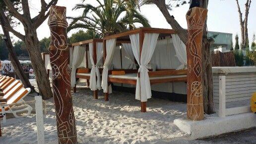 Relax on niki beach #Ibiza