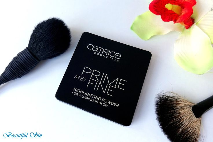 Beautiful Sin: Catrice Prime and Fine Highlighting Powder