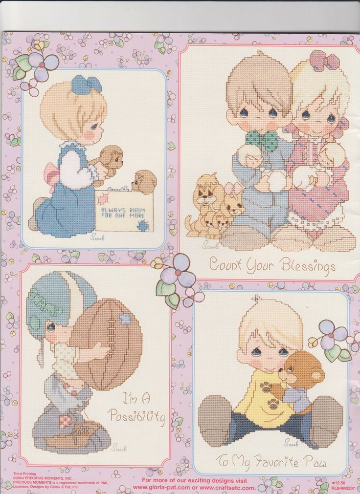 Nimblehands Precious Moments Patterns Free Embroidery