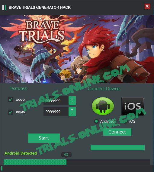 Brave Trials Gift Code Generator Hack Cheat Android