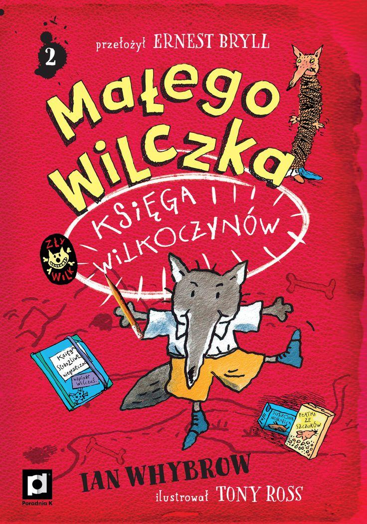 """""""Małego Wilczka księga wilkoczynów"""" to 2 część popularnej serii o przygodach dzielnego Wilczusia, która podbiła serca dzieci i dorosłych. Książkę tworzą zabawne ilustracje Toniego Rossa i świetne autorskie tłumaczenie wybitnego poety Ernesta Brylla."""